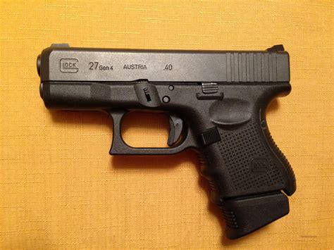 Glock 27 Gen 4 Night Sights
