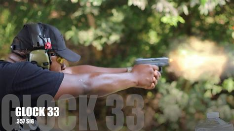 GLOCK 33 Shooting Review My 357 SIG One Night Stand