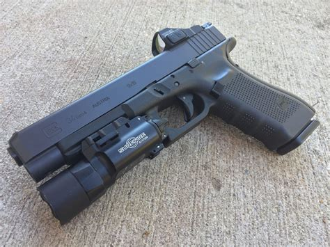 Glock 34 Weapon Light