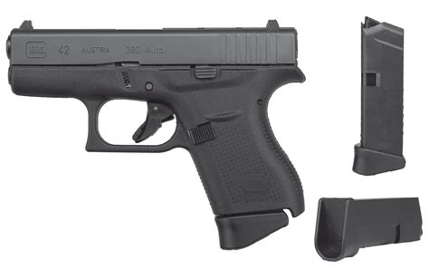 Glock 42 380 Extended Mag