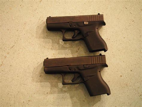 Glock 42 Glock 43 Comparison
