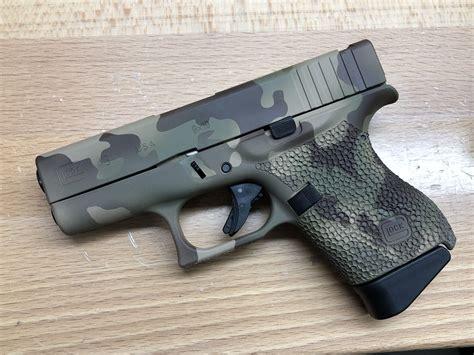 Glock 43 Cerakote Digital Camo