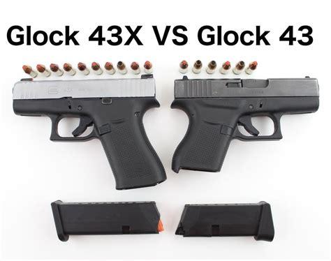 Glock 43 Compared To Glock 43x