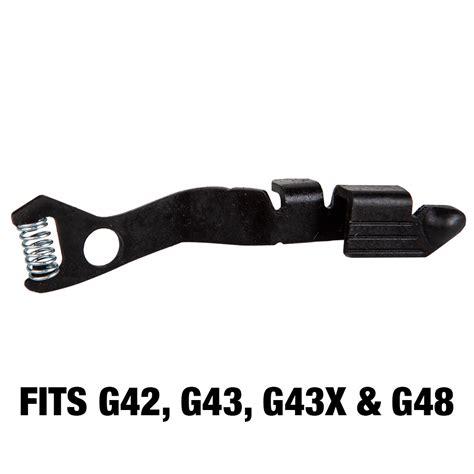 Glock 43 Extended Slide Stop Lever
