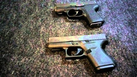 Glock 43 Kahr 380cw Size Comparison