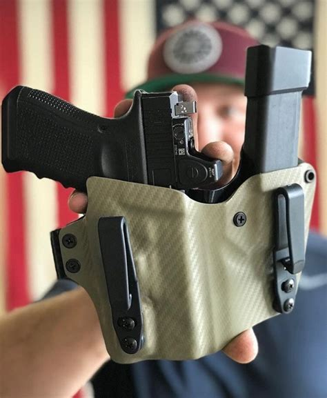 Glock 43 Kydex Holster Appendix