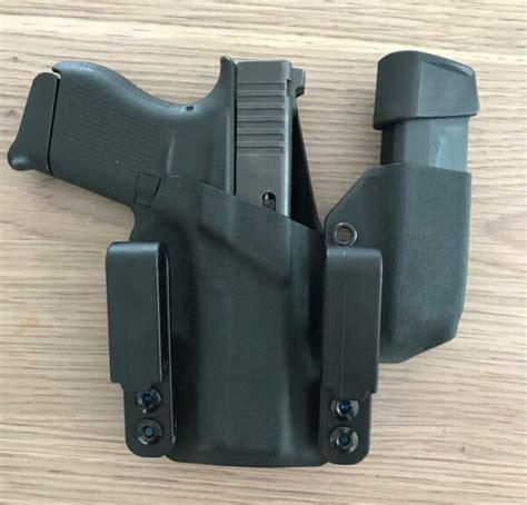 Glock 43 Kydex Holster With Magazine
