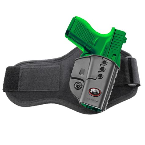 Glock 43 Left Handed Ankle Holster