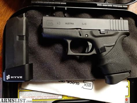 Glock 43 Plus 1 Factory