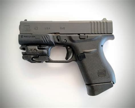 Glock 43 Rail Adapter