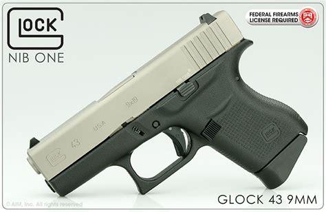 Glock 43 Stainless Slide