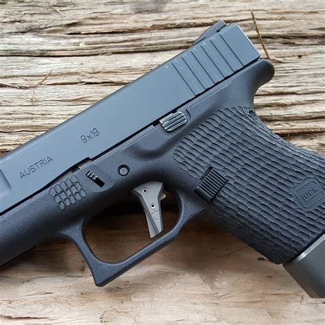 Glock 43 Stark Arms And Glock 43 Trijicon Front Sight