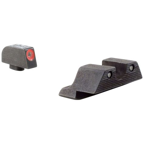 Glock 43 Trijicon Orange Front Sight