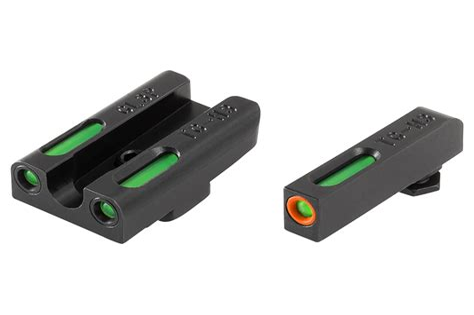 Glock 43 Tritium Fiber Optic Sights
