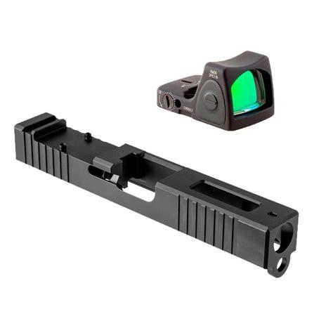 Glock 9mm Gen3 Windowed Slide W Rmr Rm06 Red Dot Brownells