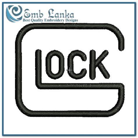 Glock Embroidery Design