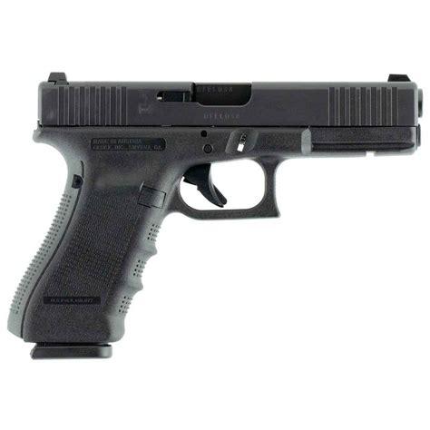 Glock G17 G4 4 49in 9mm Gas Nitride Fixed Night Sights 17