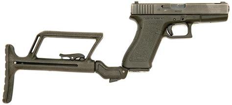Glock Model 17 Shoulder Stock