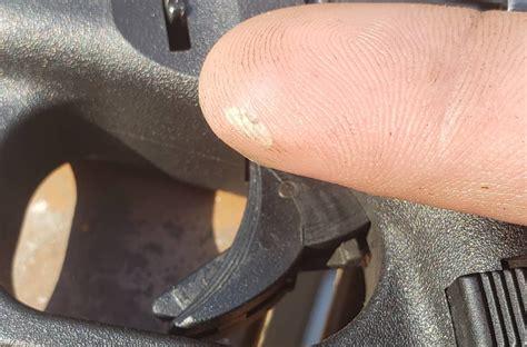 Glock Trigger Safety Hurts My Finger