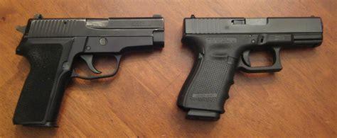 Sig-Sauer Glock Vs Sig Sauer Durability.