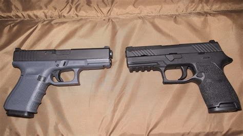 Sig-Sauer Glock Vs Sig Sauer P250.