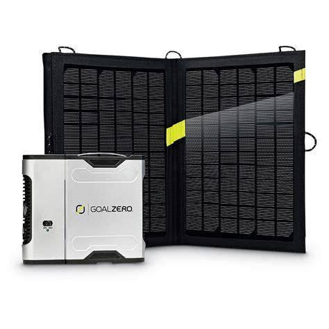 Goal Zero Sherpa 50 Solar Recharging Kit With Nomad 13