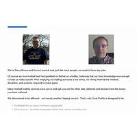 Goal profits betfair football trading & team statistics software compare