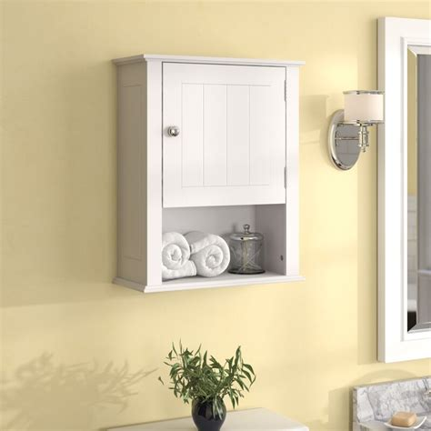 "Godbey 16.54"" W x 20.47"" H Wall Mounted Cabinet"