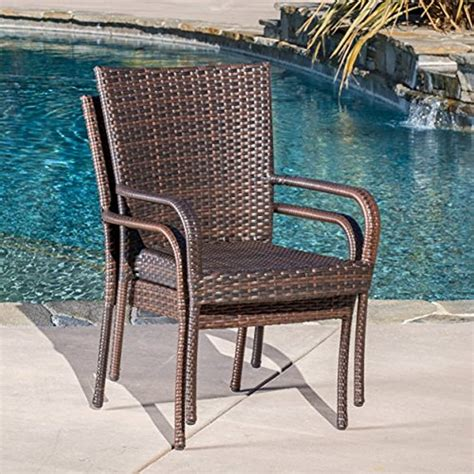 Goguen Stacking Patio Dining Chair (Set of 2)