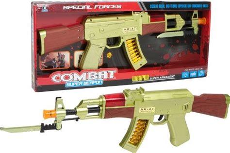 Gold Ak 47 Toy
