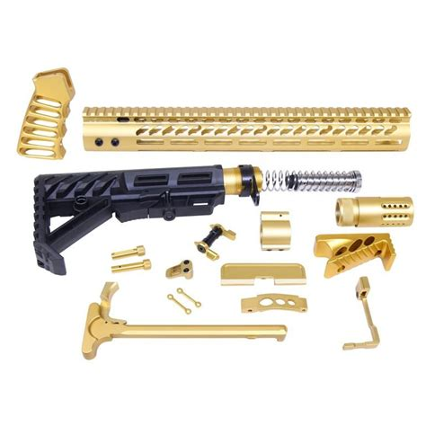 Gold Ar Lower Parts