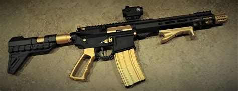 Gold Colored Ar 15 Parts