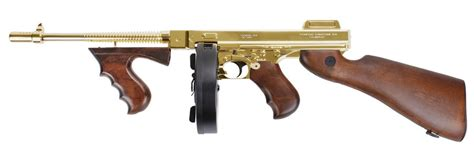 Gold Plated Tommy Gun Airsoft