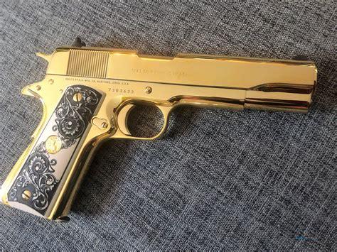 Gold Plating Colt 1911