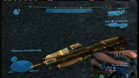 Golden Assault Rifle Halo 4