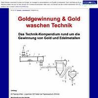 Goldgewinnung & gold waschen technik is bullshit?