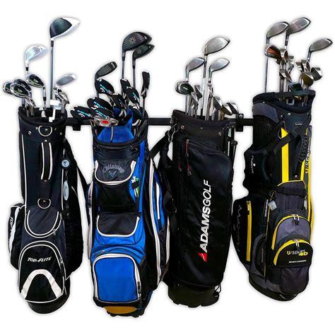 Golf bag holder for garage Image
