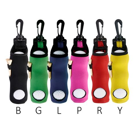 Golf ball display case with tees Image