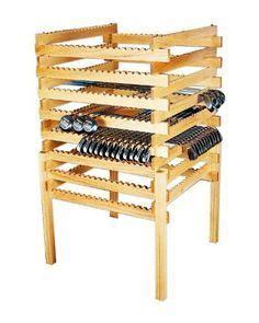 Golf club storage rack plans Image
