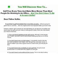 Golf swing eureka! groundbreaking & new free trial