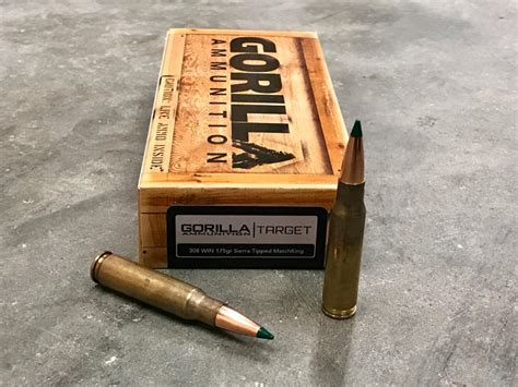 Gorilla 308 Match Ammo