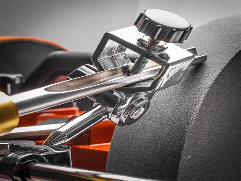 Gouge grinding jig Image