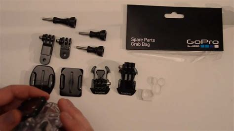 Grab Bag Of Mounts Unboxing GoPro Tips And Tricks