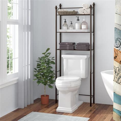 "Gracia 24.6"" W x 64.9"" H Over The Toilet Storage"
