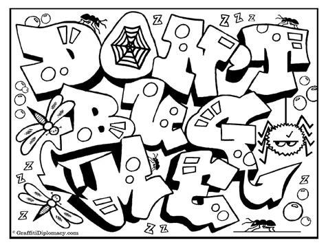 Graffiti Malvorlagen Free Download
