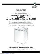 Grant Vortex Installation Manual And Vortex Energy Filter