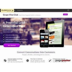 Compare grape vine club get targeted traffic in minutes