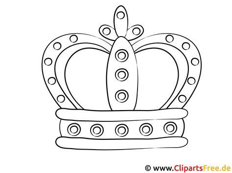 Gratis Malvorlage Krone