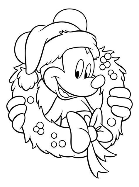 Gratis Malvorlagen Disney Weihnachten