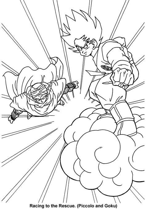 Gratis Malvorlagen Dragon Ball